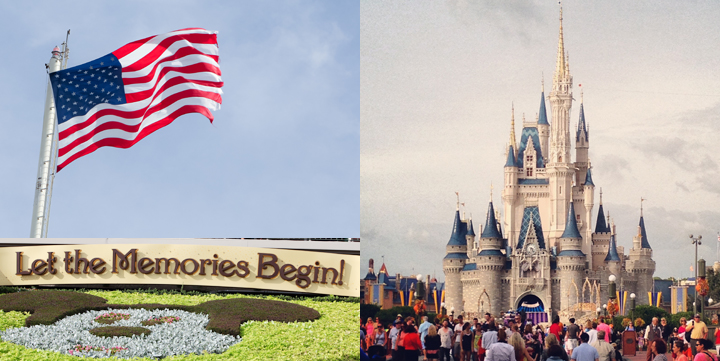 Remembering the Brave visits Disney World on National Make a Difference Day