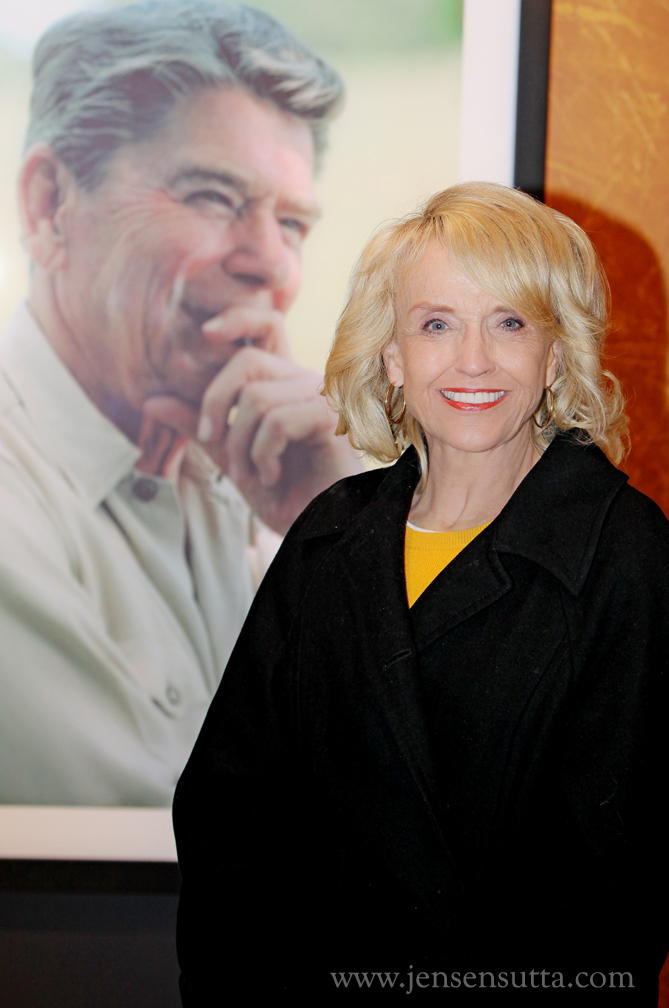 Portrait photography of Arizona Governor Jan Brewer