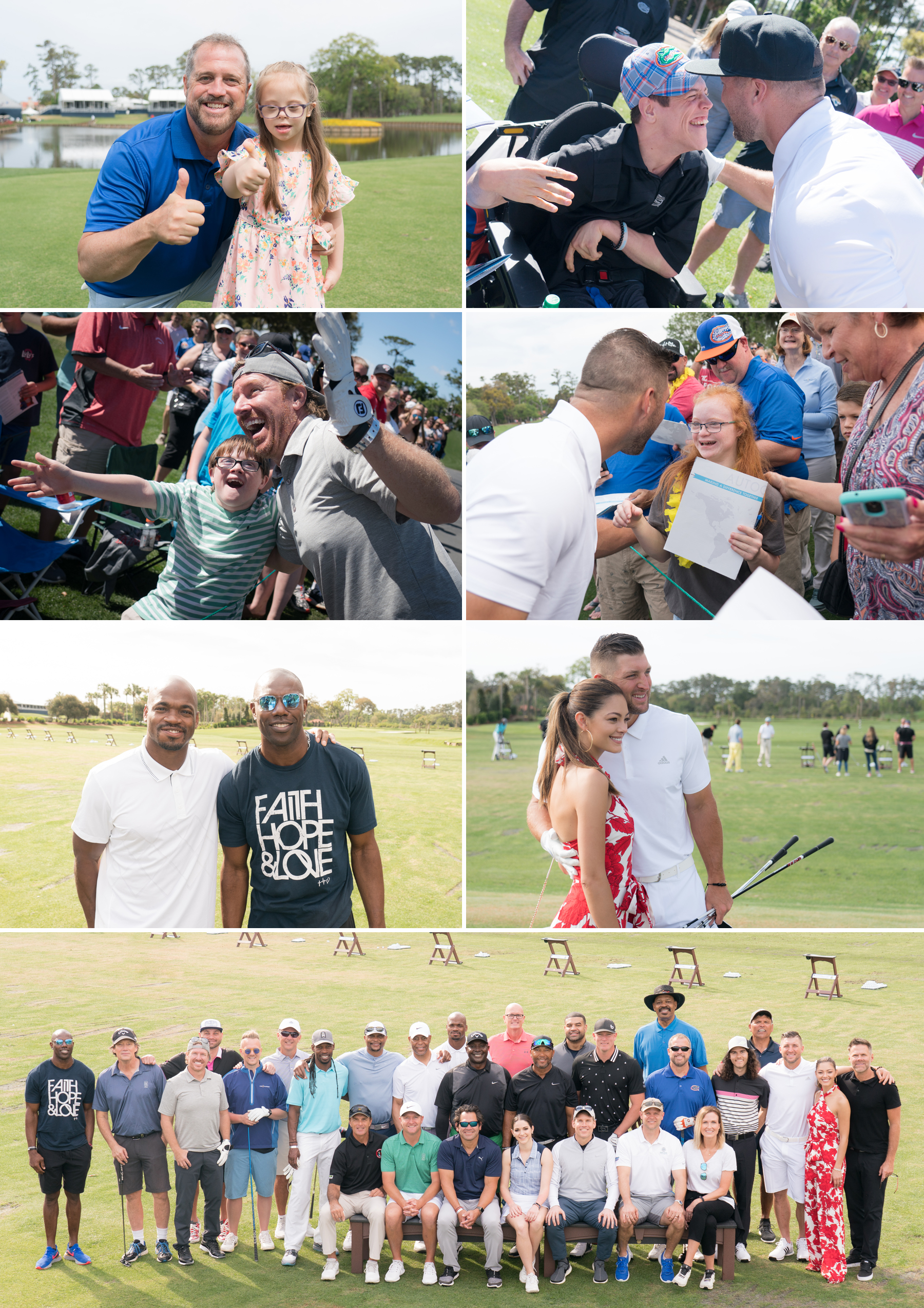 TPC Sawgrass Tim Tebow Celebrity Jensen Sutta Event Photography