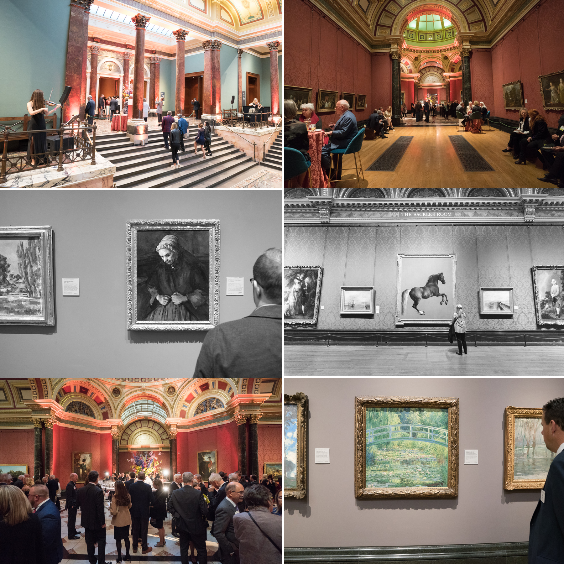 London National Gallery Event Photography