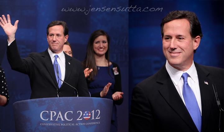 Presidential Candidate Rick Santorum