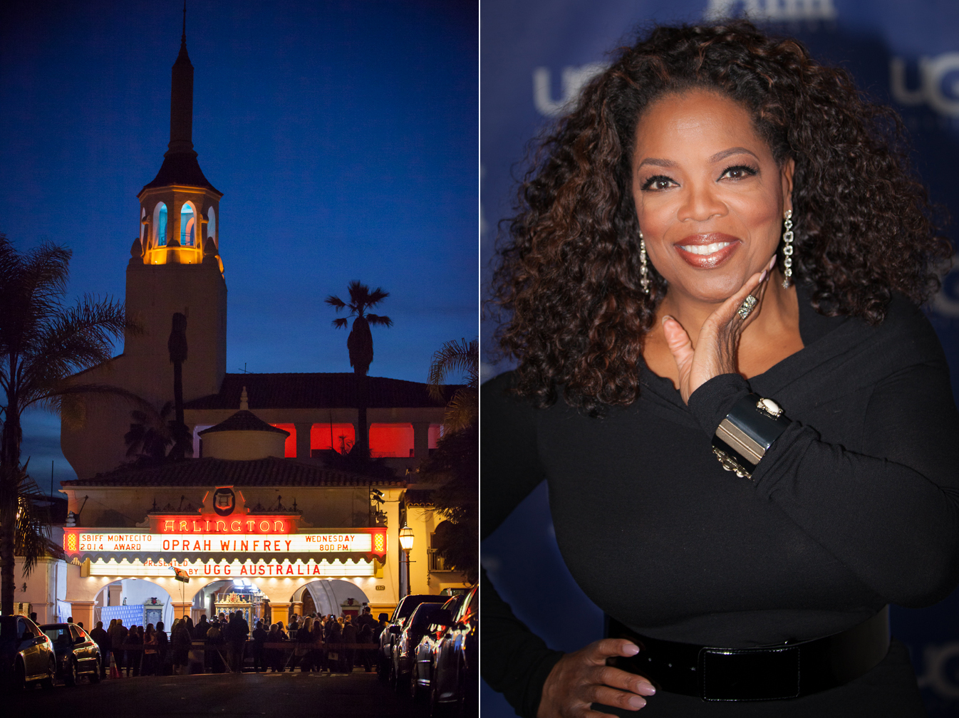 Oprah Award night at the Santa Barbara Film Festival