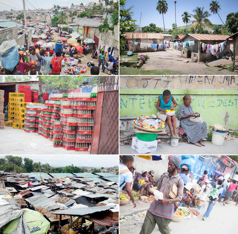 Street scenes of Haiti