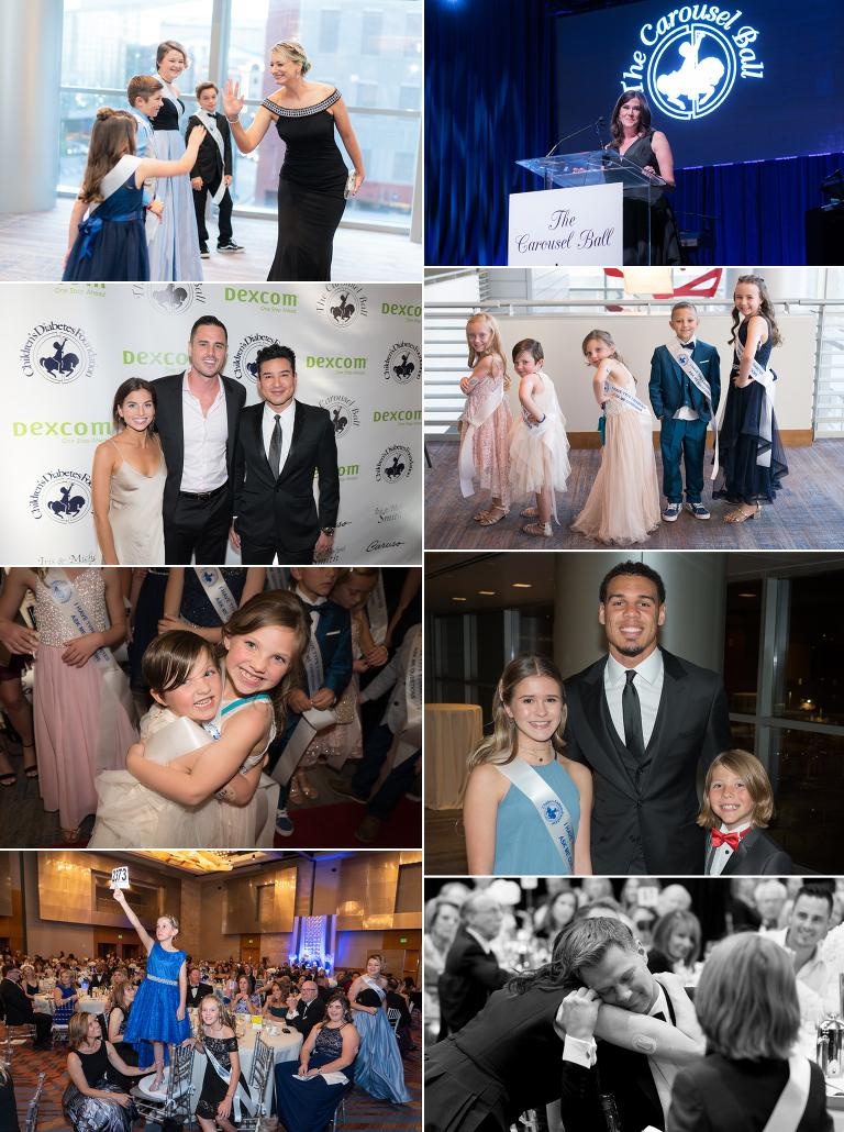 Jensen Sutta Event Photography Children's Diabetes Foundation Carousel Ball