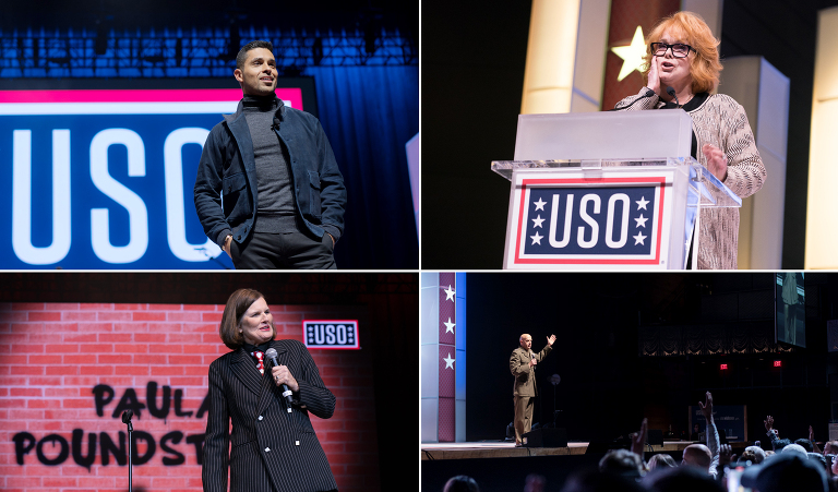 Back Stage at the USO event photography Jensen Sutta event photographer