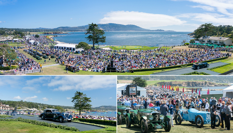 Gooding and Company Pebble Beach Concours d'Elegance Jensen Sutta Event Photography