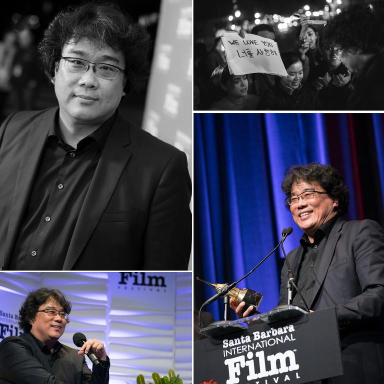 Santa Barbara International Film Festival Photographer Jensen Sutta Event Photography Bong Joon-ho