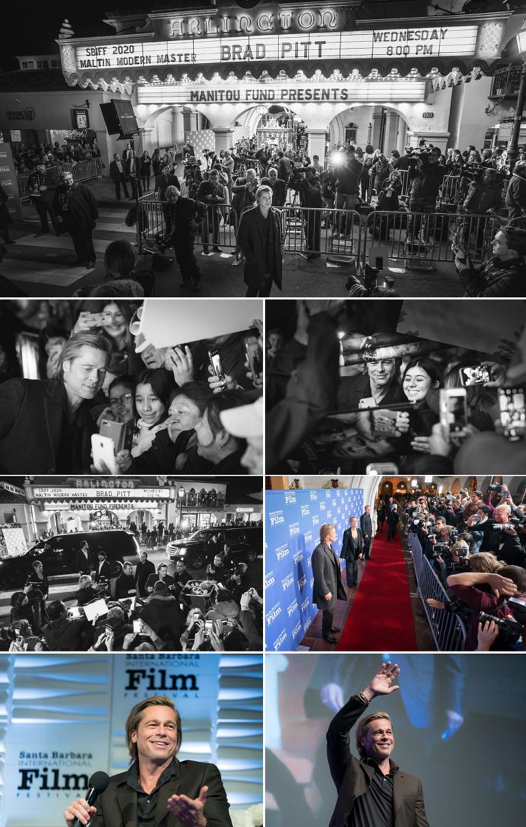Santa Barbara International Film Festival Photographer Jensen Sutta Event Photography Brad Pitt